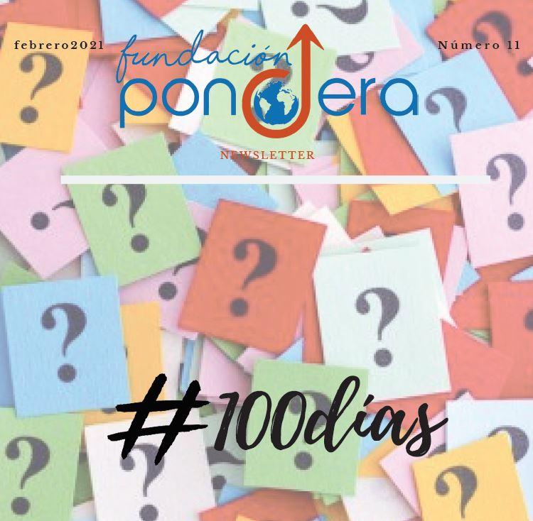 Newsletter Fundación Pondera. Mes de febrero