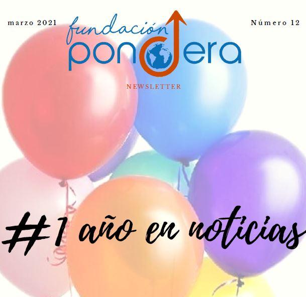 Newsletter Fundación Pondera. Mes de marzo